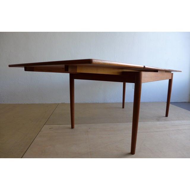 Hans Wegner Draw Leaf Teak Dining Table - Image 5 of 9