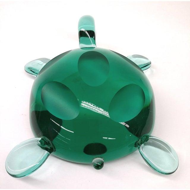 Image of Modern Jade Green Crystal Turtle