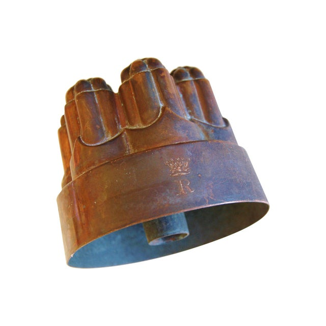 Antique English Jones Brothers Copper Mold - Image 5 of 6