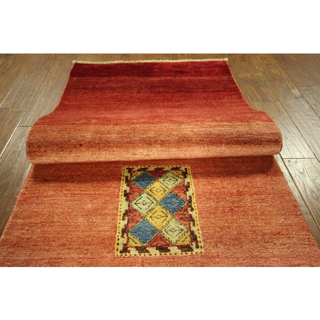 Modern Collection Gabbeh Runner - 2′9″ × 10′ - Image 7 of 9
