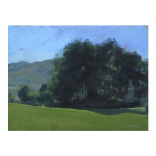 Original Landscape Painting of a Field in Vermont