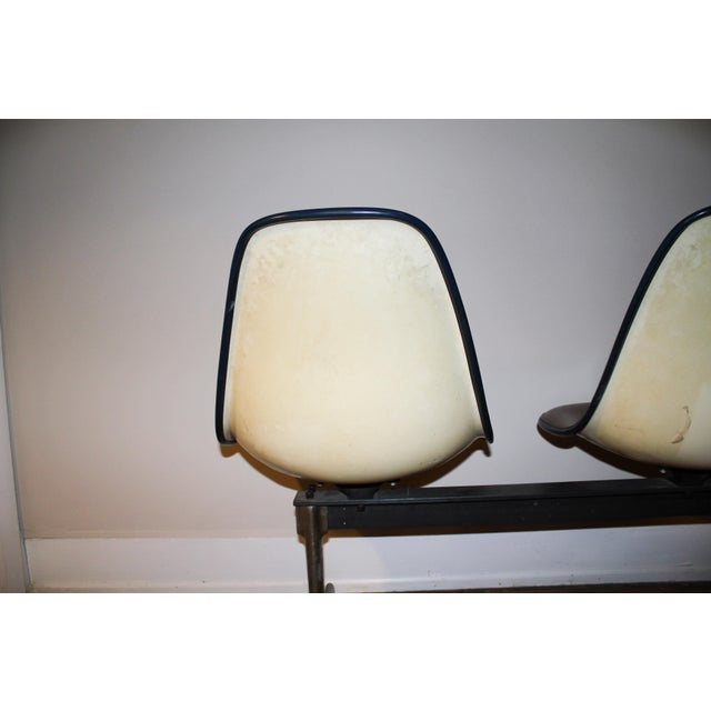 Vintage Eames Tandem Bench Chair - Image 6 of 11