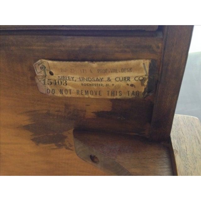 Drexel John Van Koert Roll Top Desk & Chair - Image 9 of 9