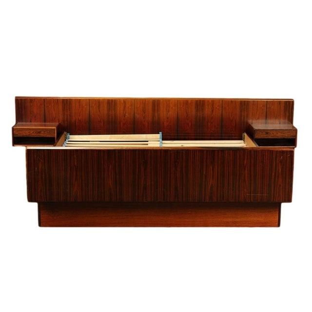 Sannemann Danish Rosewood Platform Bed - Image 2 of 6