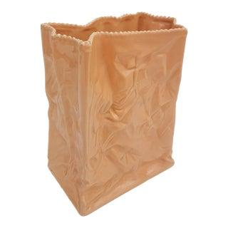 Rosenthal Studio - Line Italian Ceramic Bag Vase .