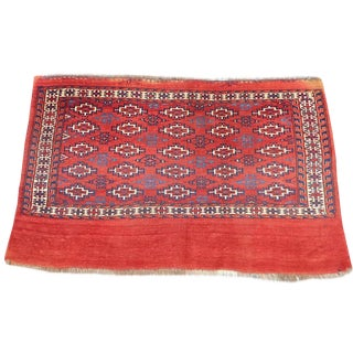 Turkoman Tekke Chuval Tribal Rug - 2′6″ × 3′11″