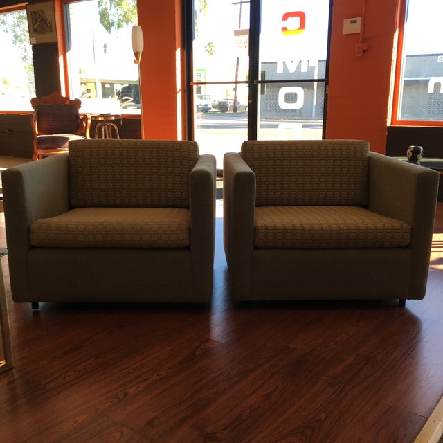 Knoll Pfister Lounge Chairs - A Pair - Image 2 of 11