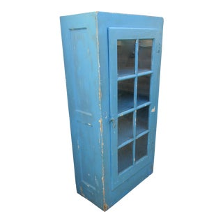 Turquoise Country Cottage Cabinet