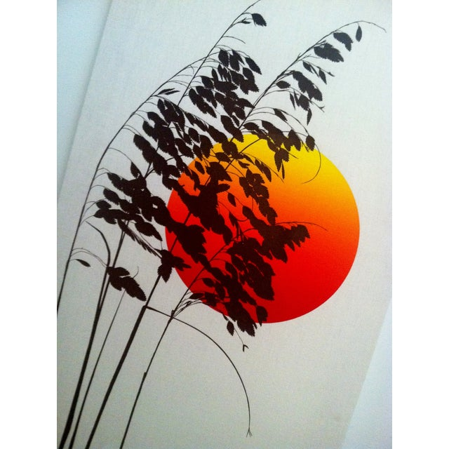 1970s Landscape Silkscreen - Image 3 of 6