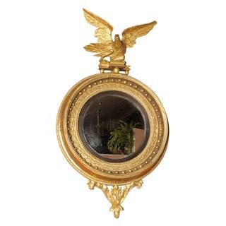 Early 19th Century Regency Convex Mirror