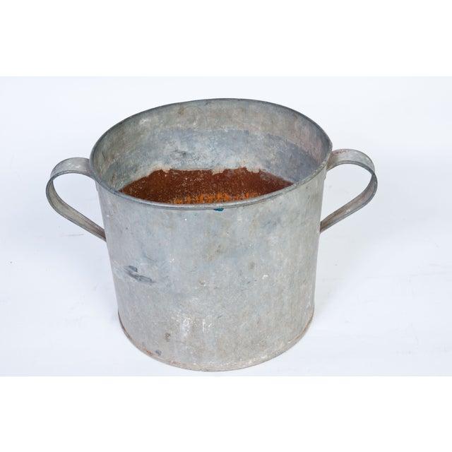 Vintage Galvanized Pot - Image 2 of 2