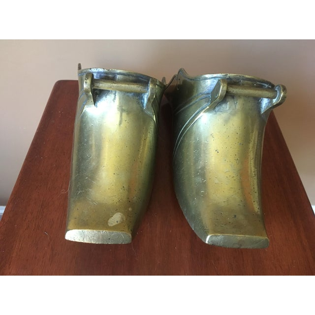 Spanish Colonial Brass Stirrups - a Pair - Image 6 of 9