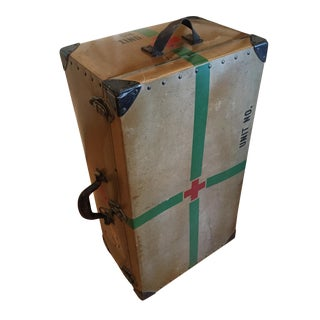 WWII Era Military First Aid/Nurse Trunk