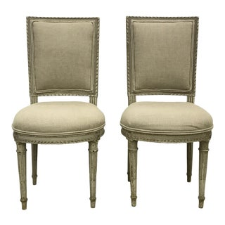French Carved Chairs - a Pair