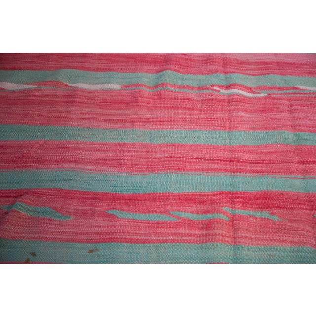"Vintage Kilim Carpet - 5'3"" X 11'7"" - Image 2 of 6"