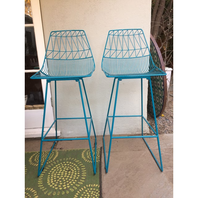 """""""Lucy"""" Bar Stools - A Pair - Image 2 of 5"""
