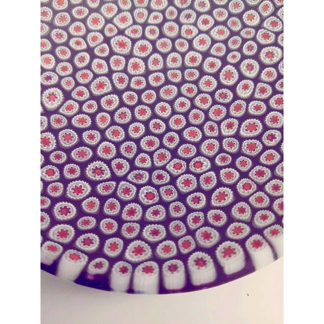 Millefiori Murrine Plate by Ercole Moretti Italy - Image 6 of 7