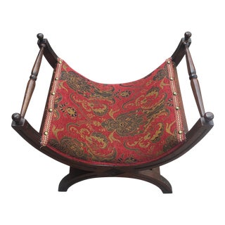 Vintage Roman Style Savanorola Chair