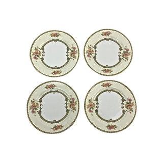 "Noritake ""Aubrey"" Dessert Plates- Set of 4"