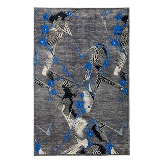 """Eclectic, Hand Knotted Area Rug - 6' 0"""" X 9' 1"""""""