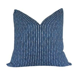 Skyfall Navy Stripe Custom Pillow Cover