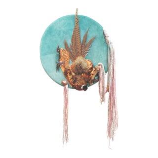 Native American Ceremonial Shield Wall Hanging
