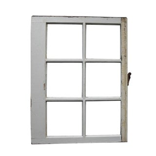 Vintage Reclaimed Wood Window