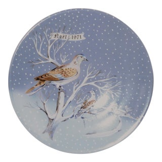 Haviland Two Turtle Doves Plate