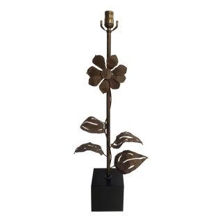 Brutalist Flower Table Lamp