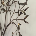 Image of Flowering Tree Brass Wall Art