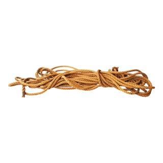"Vintage Nautical 1"" Woven Manila Rope"