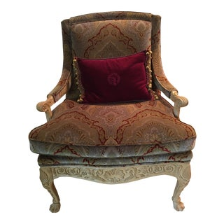 Louis XV French Style Bergere Accent Chair