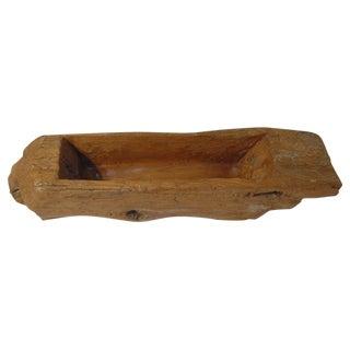 Wood Trough