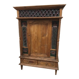 Handcrafted Wooden Armoire