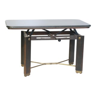 French Art Deco Adjustable Coffee Table