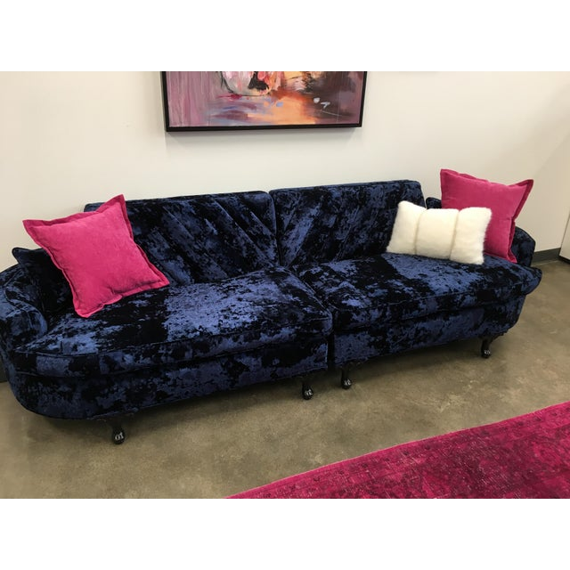 Mid-Century Custom Upholstered Sofa (Final Markdown!) - Image 7 of 11