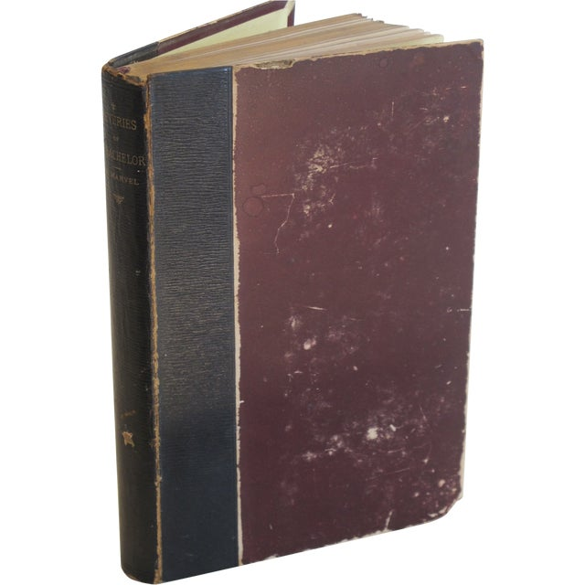 "Image of Ik Marvel ""Reveries of a Bachelor"" 1884 Book"