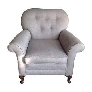 Vintage Tufted  Armchair