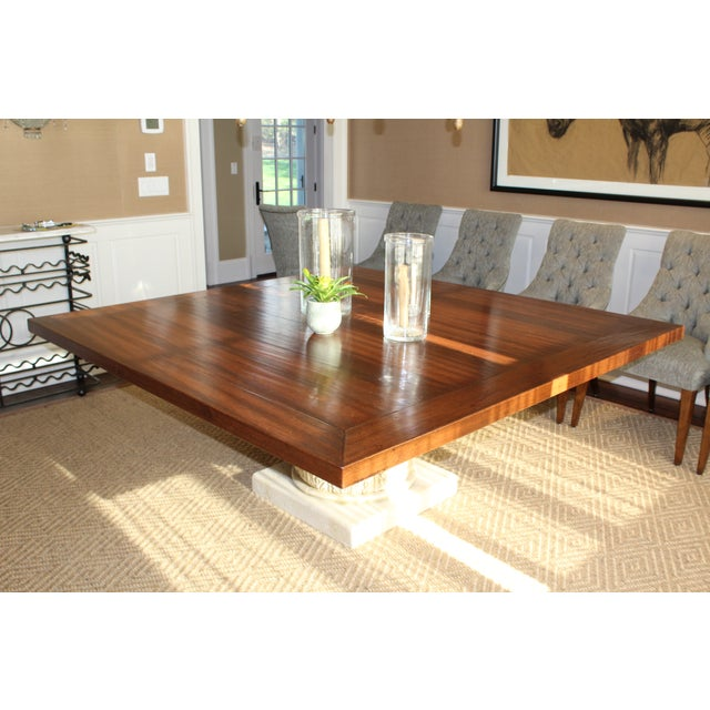 Custom Made Walnut Dining Table - Image 5 of 8