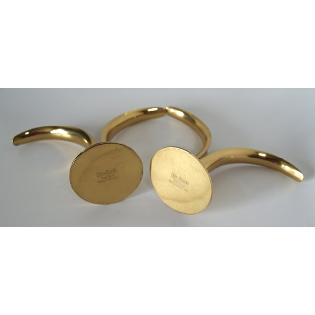 Ystad Brass Lily Candleholders - A Pair - Image 8 of 9