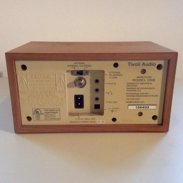 Image of Henry Kloss Tivoli Audio One Am/Fm Radio