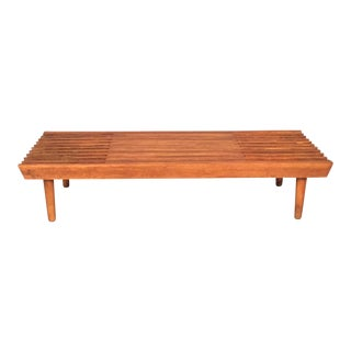 Mid-Century Extended Coffee Table/Bench
