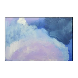 """Abstract Lavender Bloom"" Fine Art Giclée Print"