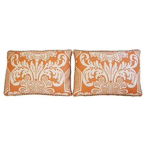 Custom Vervain Trocadero Linen Pillows - Pair - Image 7 of 8