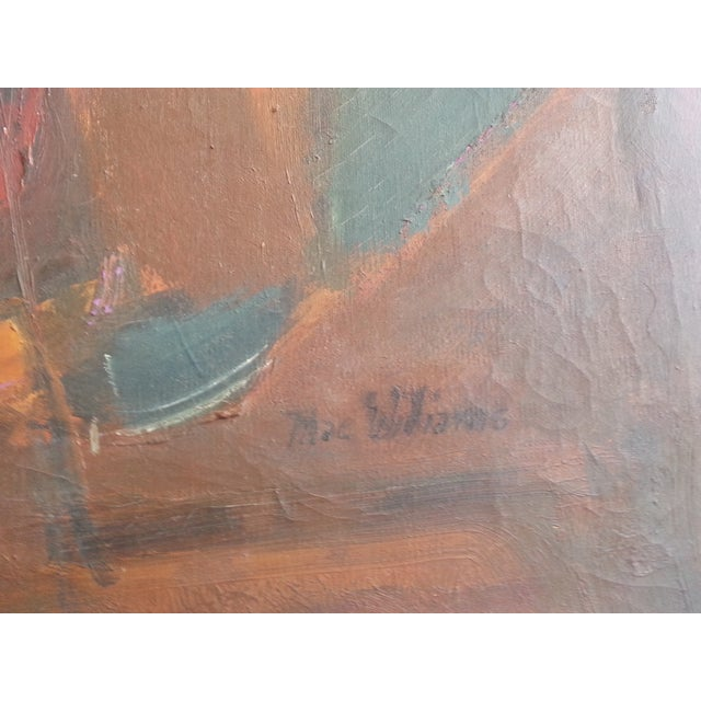 Mac Williams Modern Abstract Painting - Image 3 of 4
