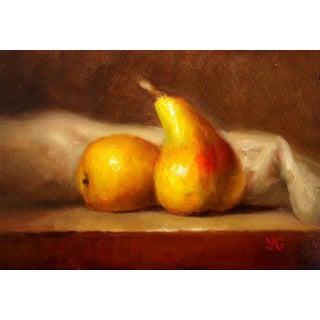Pears Original Oil Painting by Yana Golikova