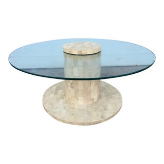 Tessellated Fossil Stone Coffee Table