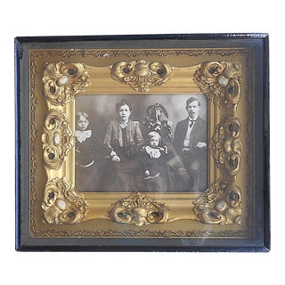 Antique Cased & Framed Photograpah