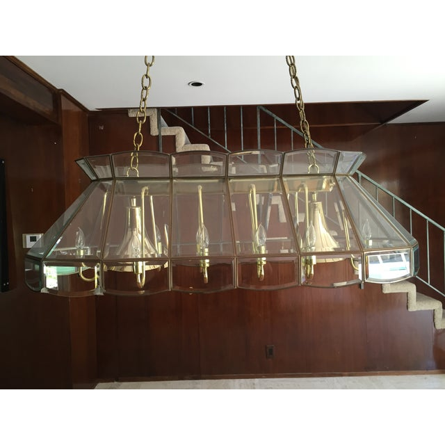 Vintage 60s Era Pool Table Light