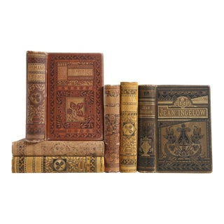 Ornate Antique Poetry Collection, S/6